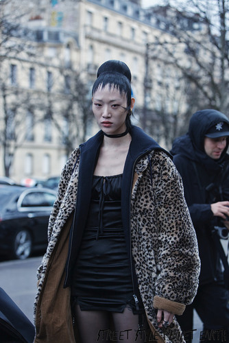 The Best Street Style ayt Haider Ackerman - Paris Fashion Week - 29 Feb 2020