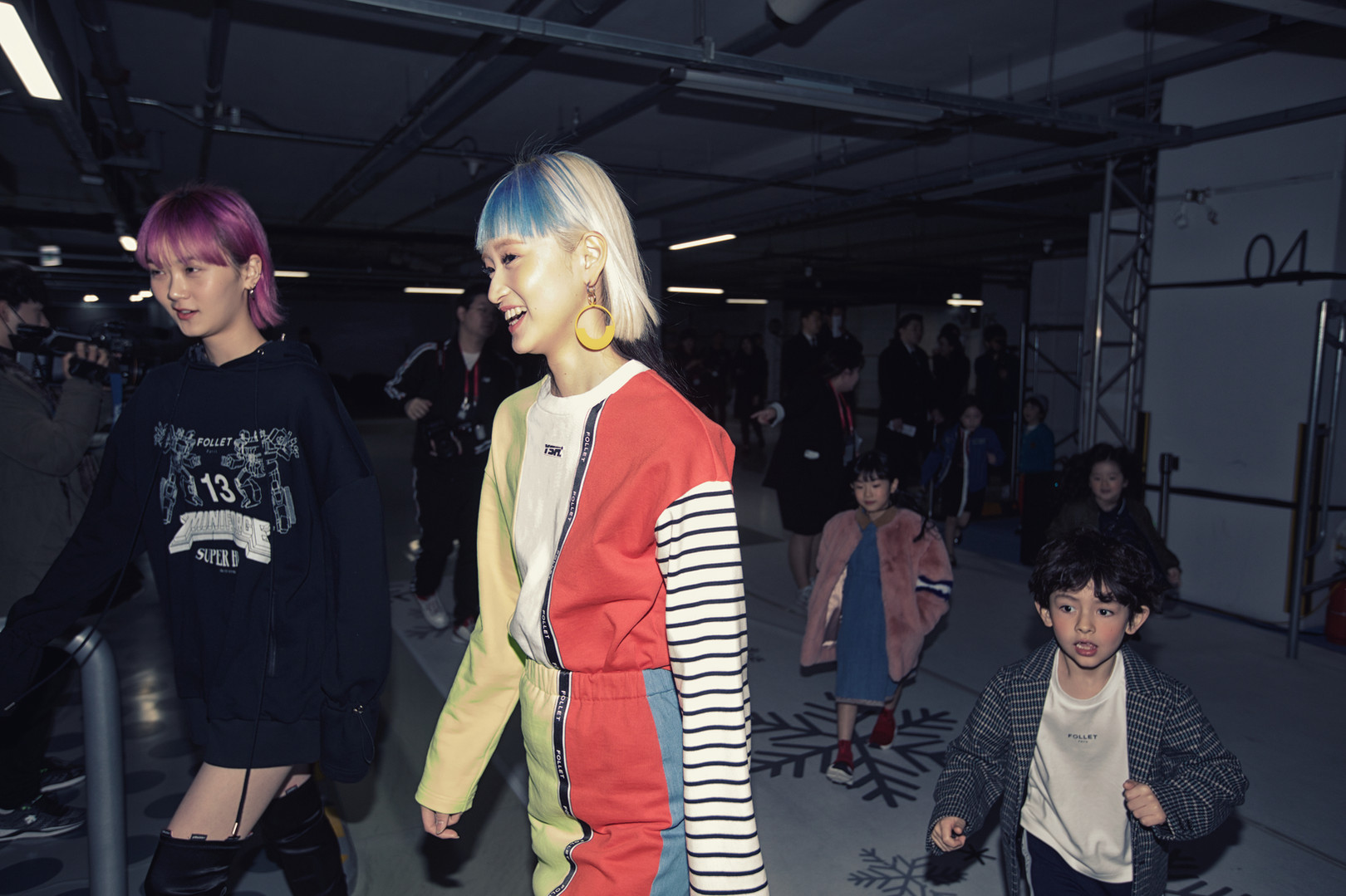 Follet x Youser  Backstage Seoul Fashion Week