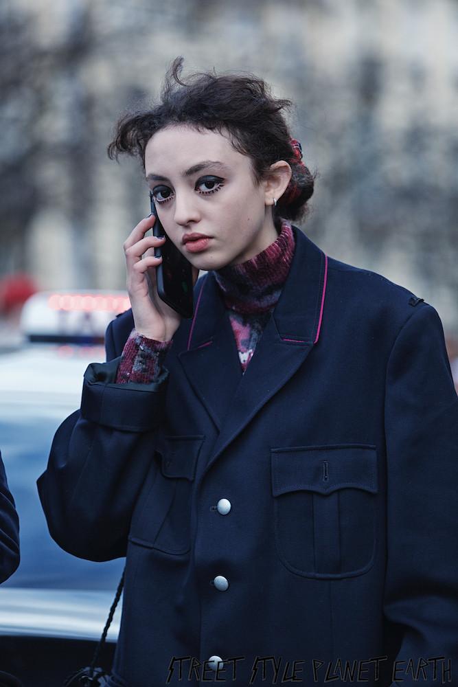 The Best Street Style ayt Haider Ackerman - Paris Fashion Week - 29 Feb 2020