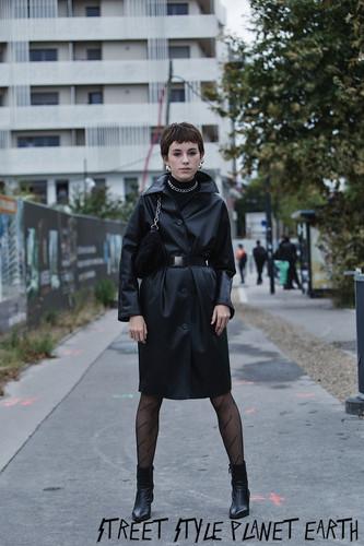Balenciaga Street Style - Paris FW SS20
