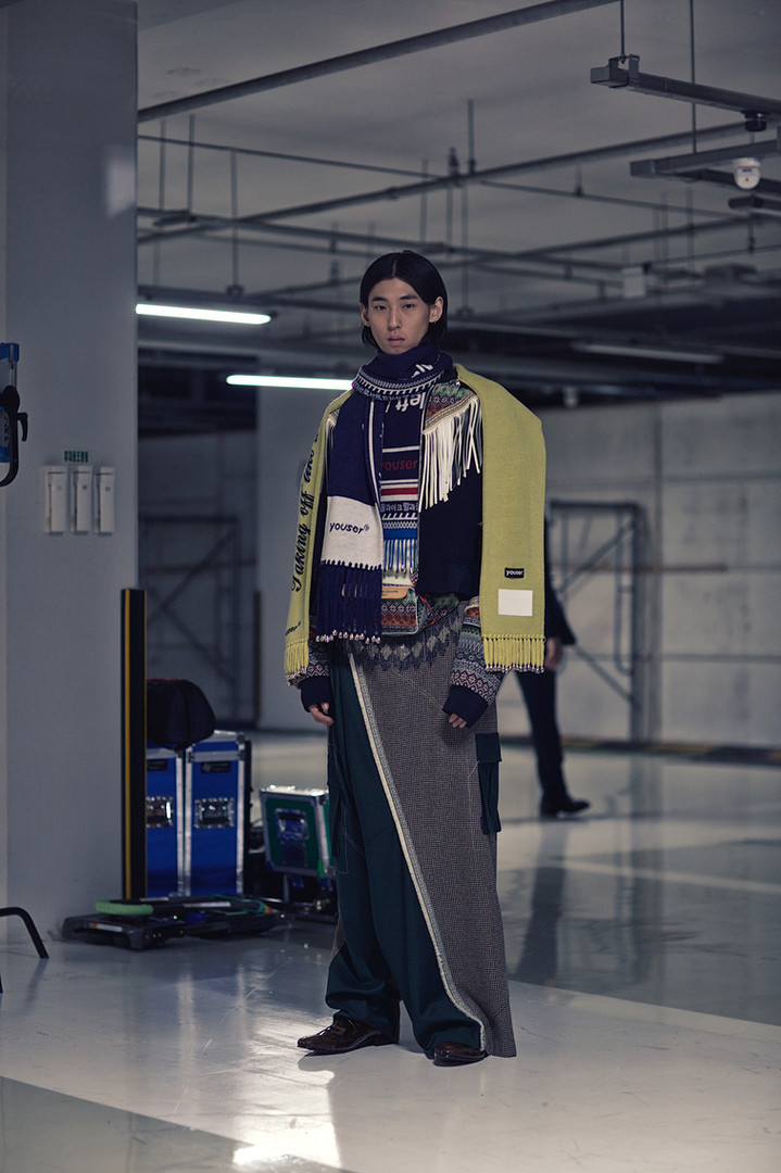 Youser - Backstage, Seoul Fashion Week