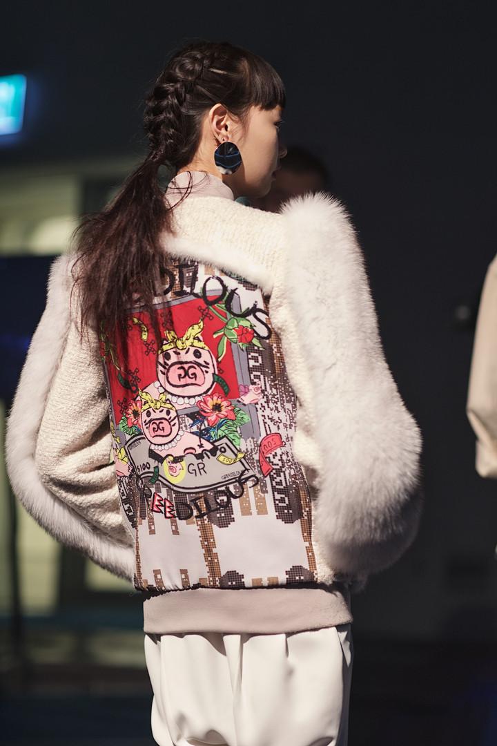 Greedilous Backstage, Seoul Fashion Week