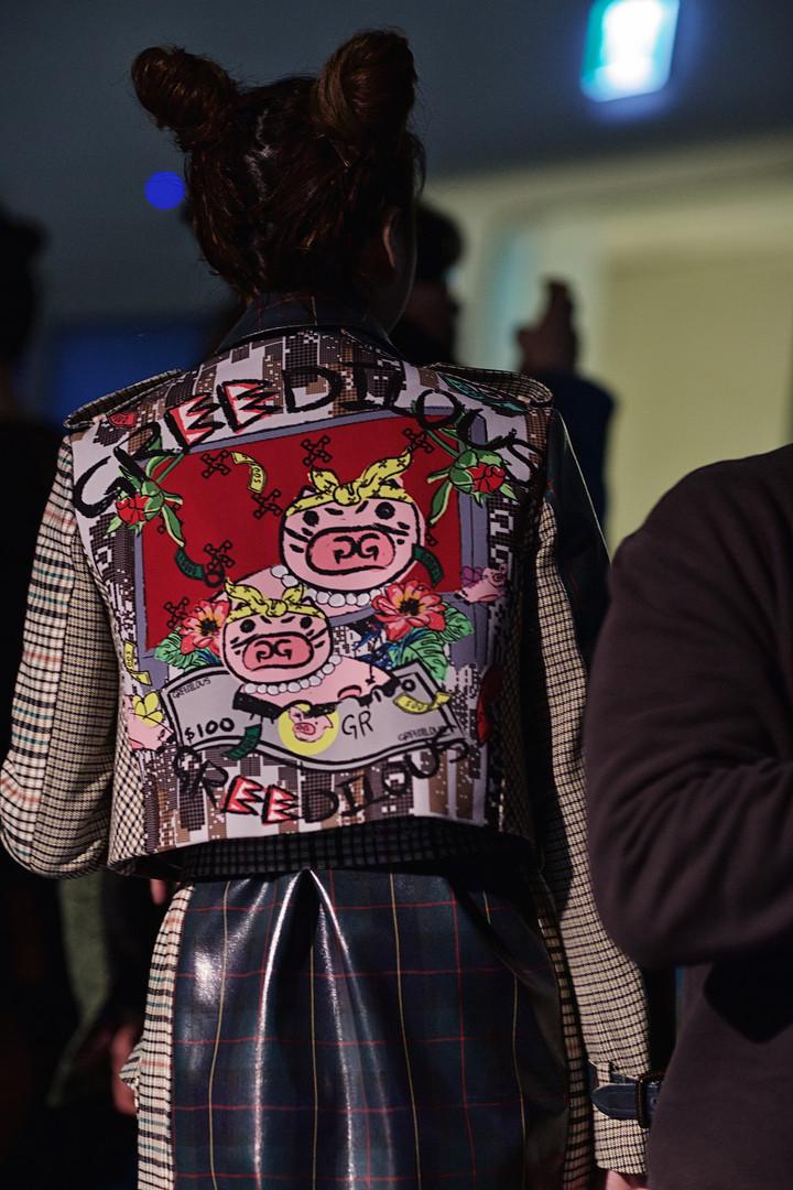Greedilous - Backstage, Seoul Fashion WeGreedilous Backstage, Seoul Fashion Week