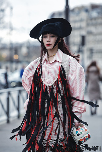 The Best Street Style at Andreas Kronthaler for Vivienne Westwood - Paris Fashion Week - 29 Feb 20