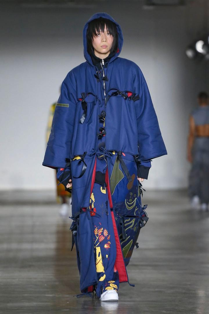 Bethany Williams AW20 London Fashion Week Men's