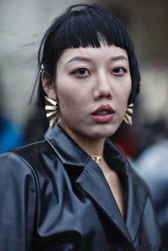 The Best Street Style from Ann Demeulemeester - Paris Fashion Week 27 February 2020