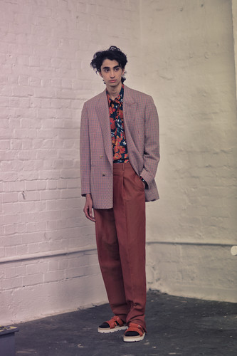 E.Tautz - Backstage, London FAshion Week Men's
