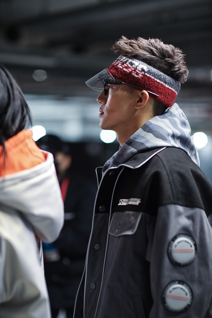 D-Antidote - Backstage, Seoul Fashion Week