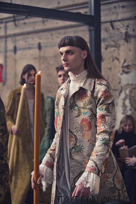 "PPalomo Spain - ""Ecstacy"" Show AW20 - Paris fashion Week Men's 19 January 2020"