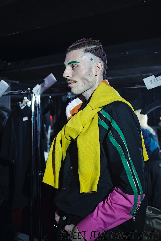 "Backstage - KIDILL AW20 ""Fuck Forever"" Gibus Club, Paris - 14 January 2020"