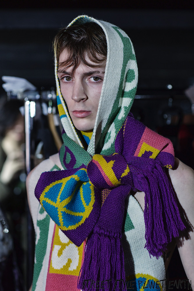 """Backstage - KIDILL AW20 """"Fuck Forever"""" Gibus Club, Paris - 14 January 2020"""