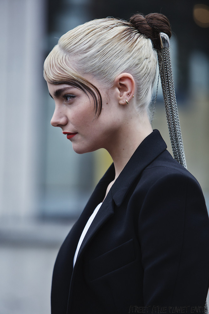 The Best Street Style at Mugler, Paris fashion Week  26 February 20