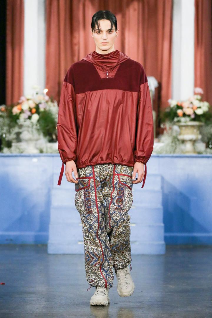 paria / FARZANEH AW20 London Fashion Week Men's