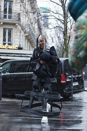 The Best Street Style at Noir Kei Ninomiya - Paris Fashion Week - 29 Feb 20