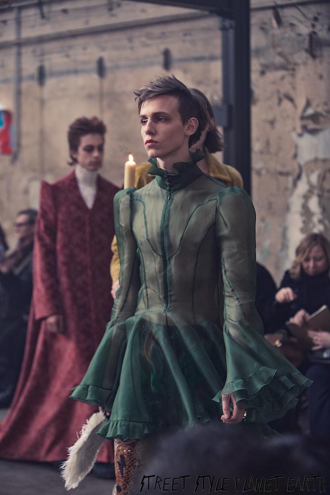 "Palomo Spain - ""Ecstacy"" Show AW20 - Paris fashion Week Men's 19 January 2020"
