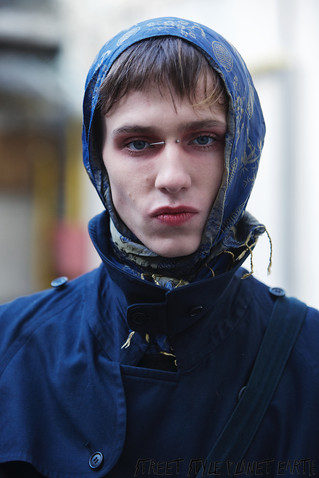 TThe Best Guest Street Style at PALOMO SPAIN Paris Fashion Week Men's January 2020