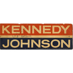 Volunteer for Kennedy Campaign