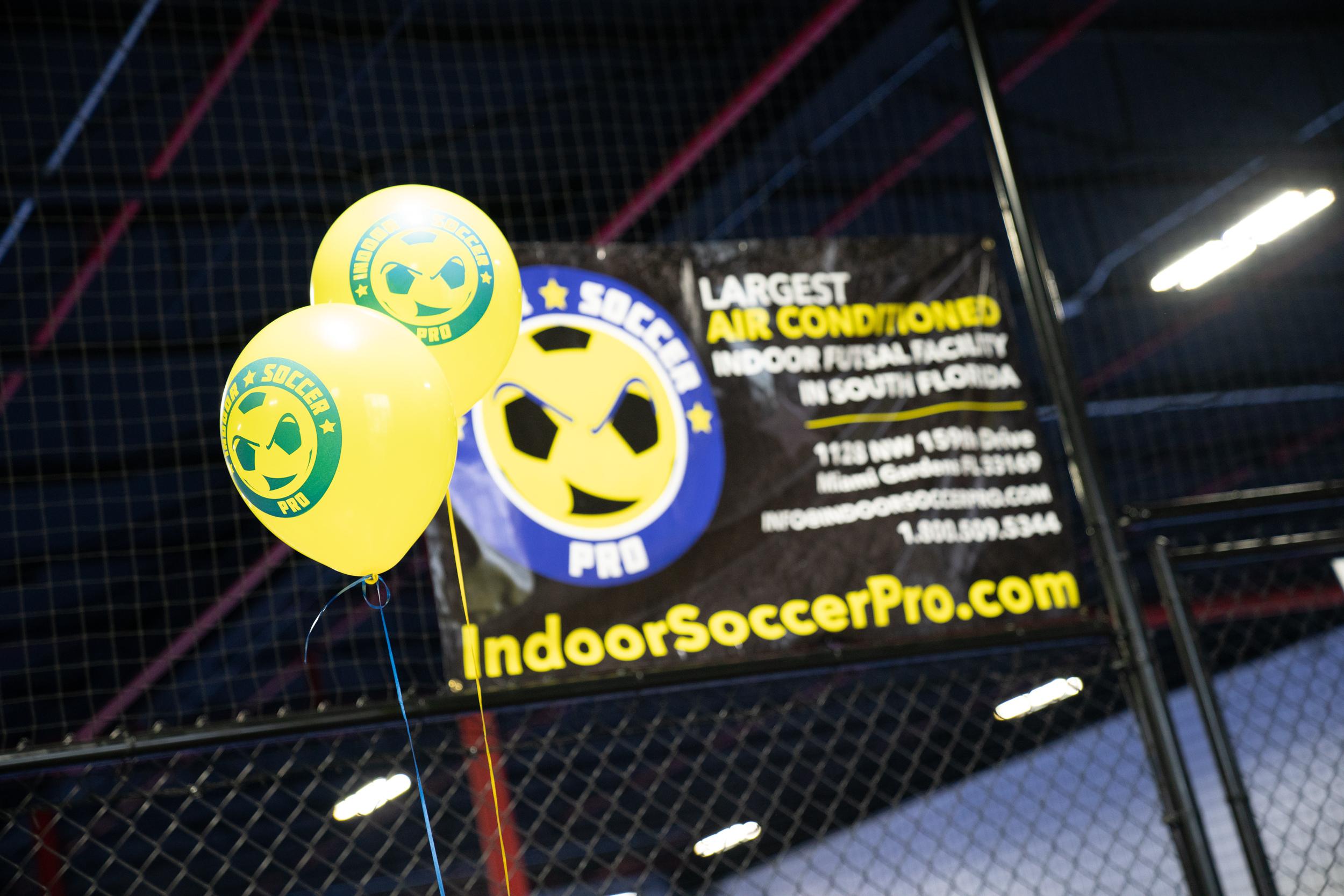 Indoor Soccer Pro banner