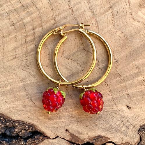 Raspberry Fields Earrings