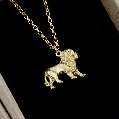 Lion Charm Necklace