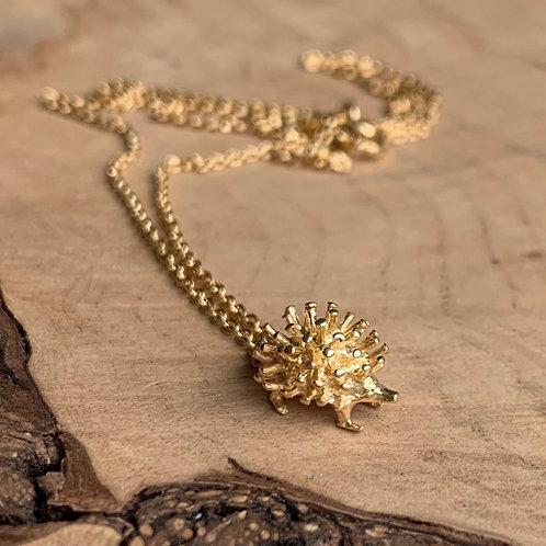 Mini Hedgehog Necklace