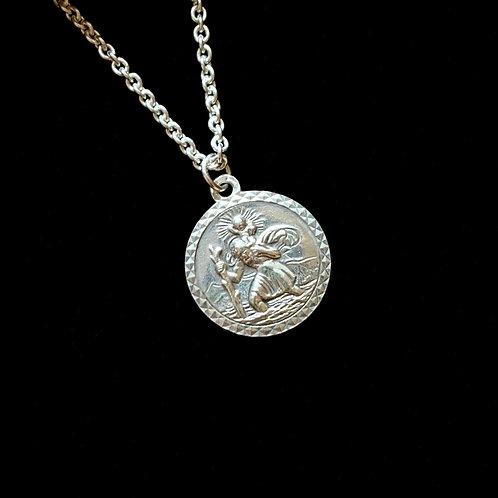 Men's St Christopher Necklace