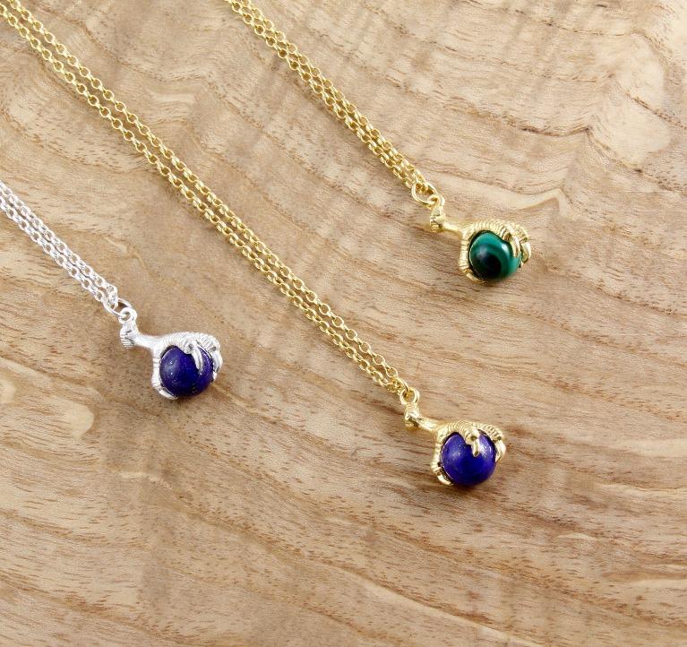 Margot & Mila Crow Claw necklaces