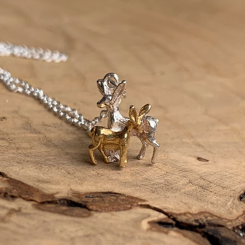 Doe & Fawn Necklace
