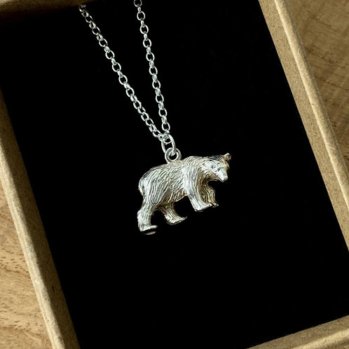 Polar Bear Charm Necklace