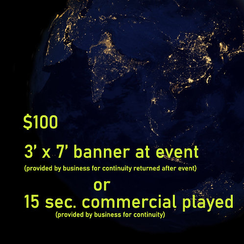 Commercial or Banner