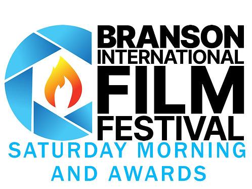 Saturday morning and awards - physical/virtual