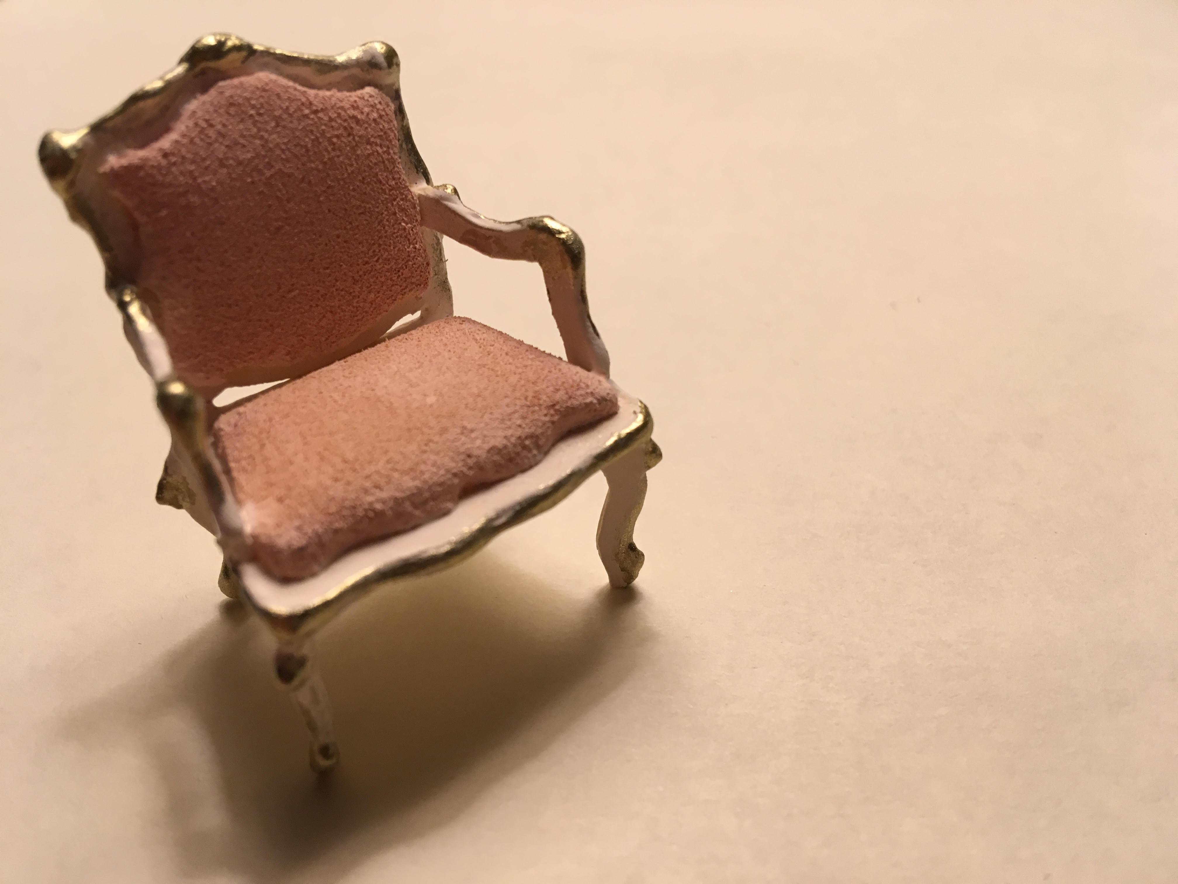 1.25 Model Rococo Chair