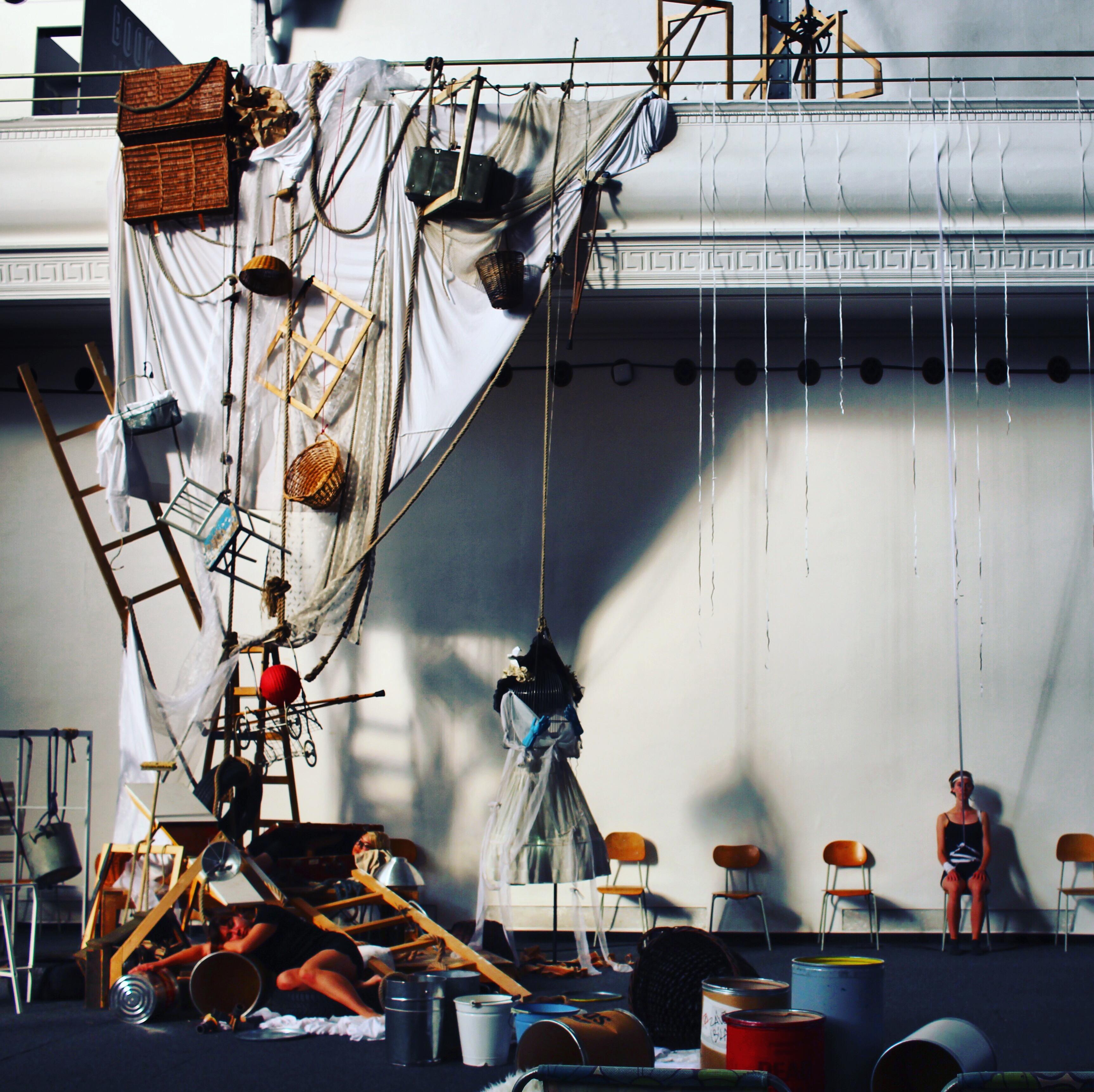 Prague Quadrennial Installation