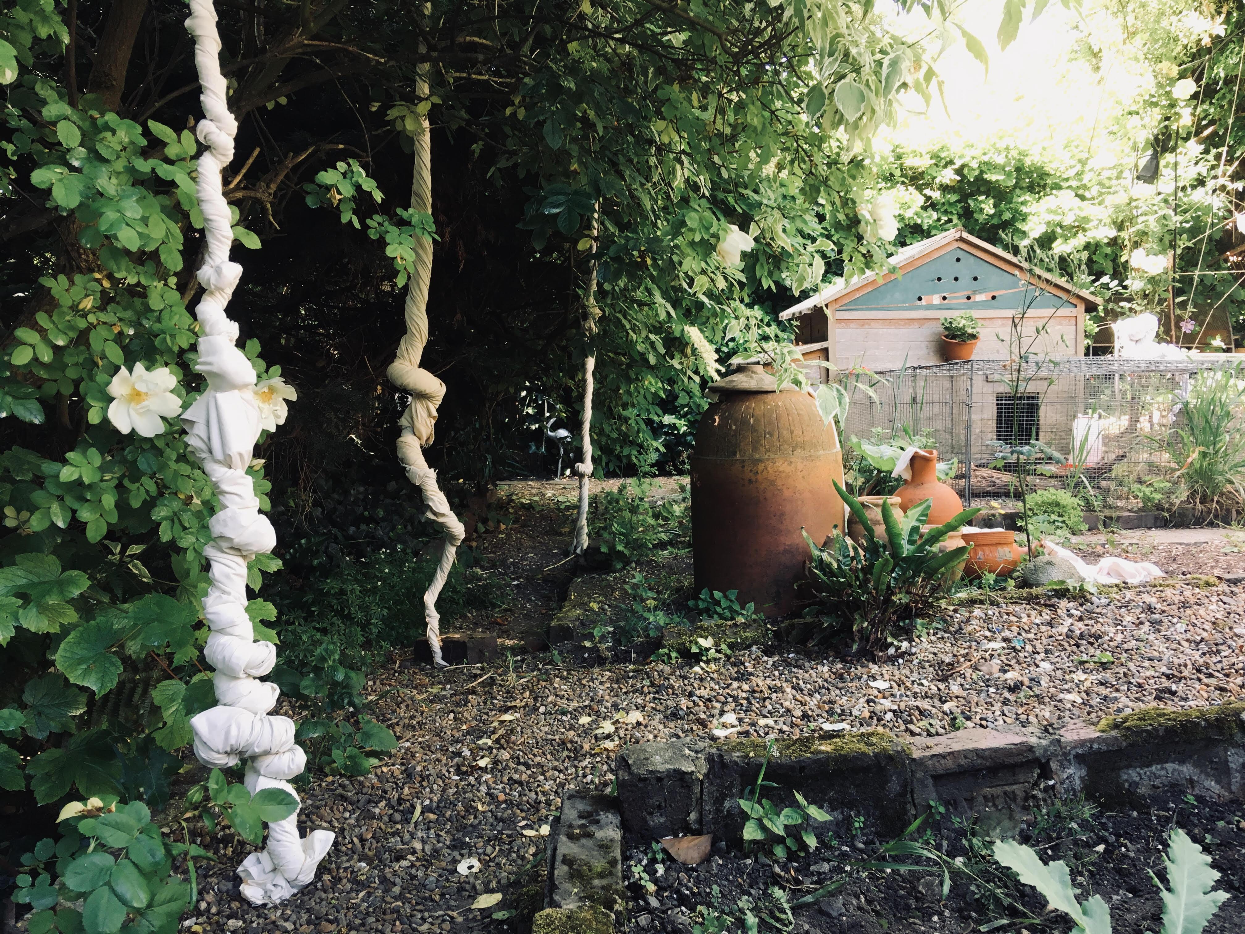 Site Specific Garden Installation