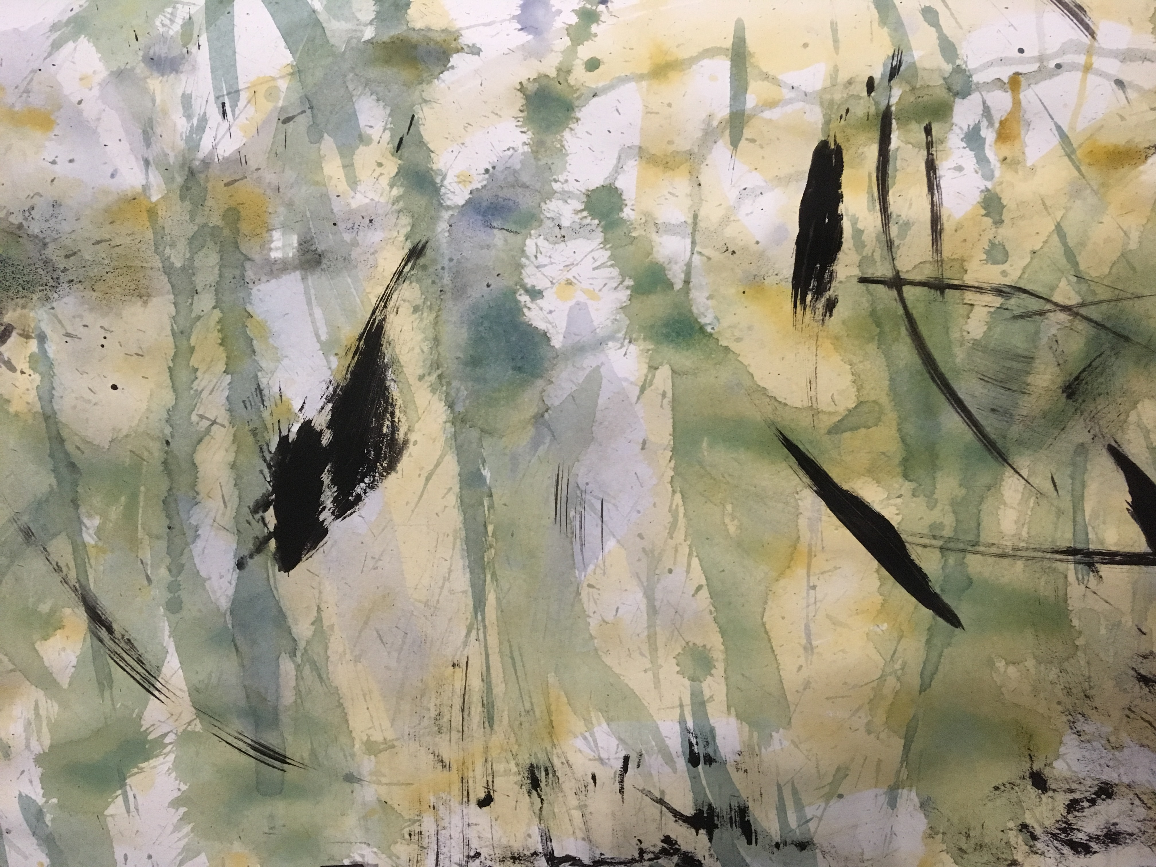 Abstract Watercolours