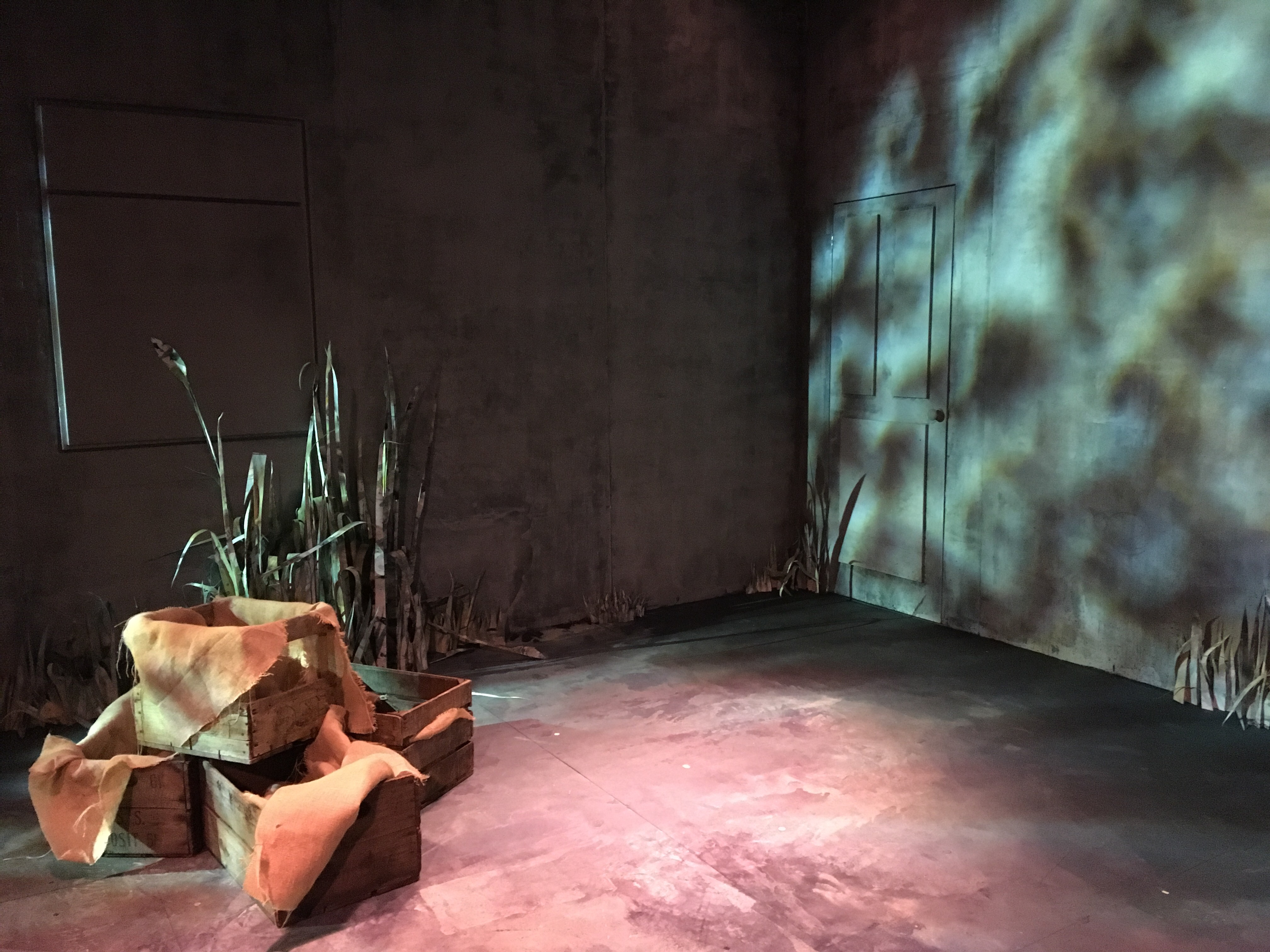 My set for 'Fen' by Caryl Churchill