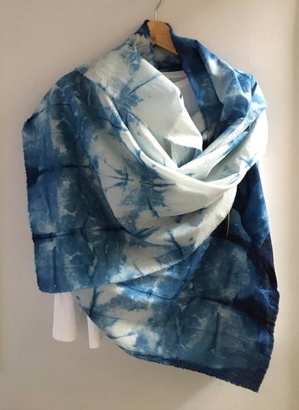 Large scarf D/ wrap 190cm x 36cm