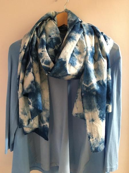 Large scarf E/ warp 190cm x 72cm