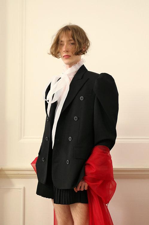 Puff shoulder Jacket / Shorts