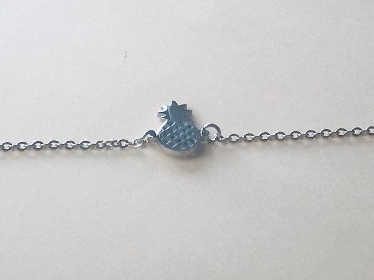 Bracelet ananas en acier marque Stella GREEN