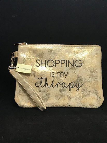 Pochette shopping is my thėrapy