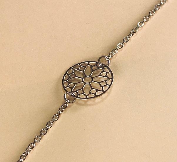 bracelet en acier Stella Green flocon
