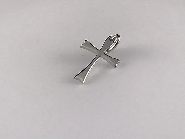 Pendentif croix  en argent 925/1000