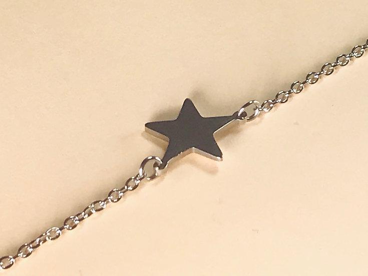 Bracelet en acier Stella GREEN étoile
