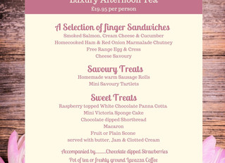 Luxury Mothers Day Afternoon Tea