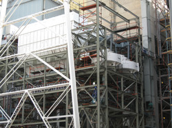 Fly ash air classifiers
