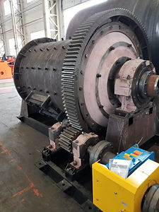 Ball mill for silica sand