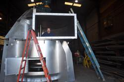 Gypsum air classifier