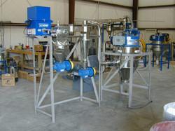 Metal powder classifier