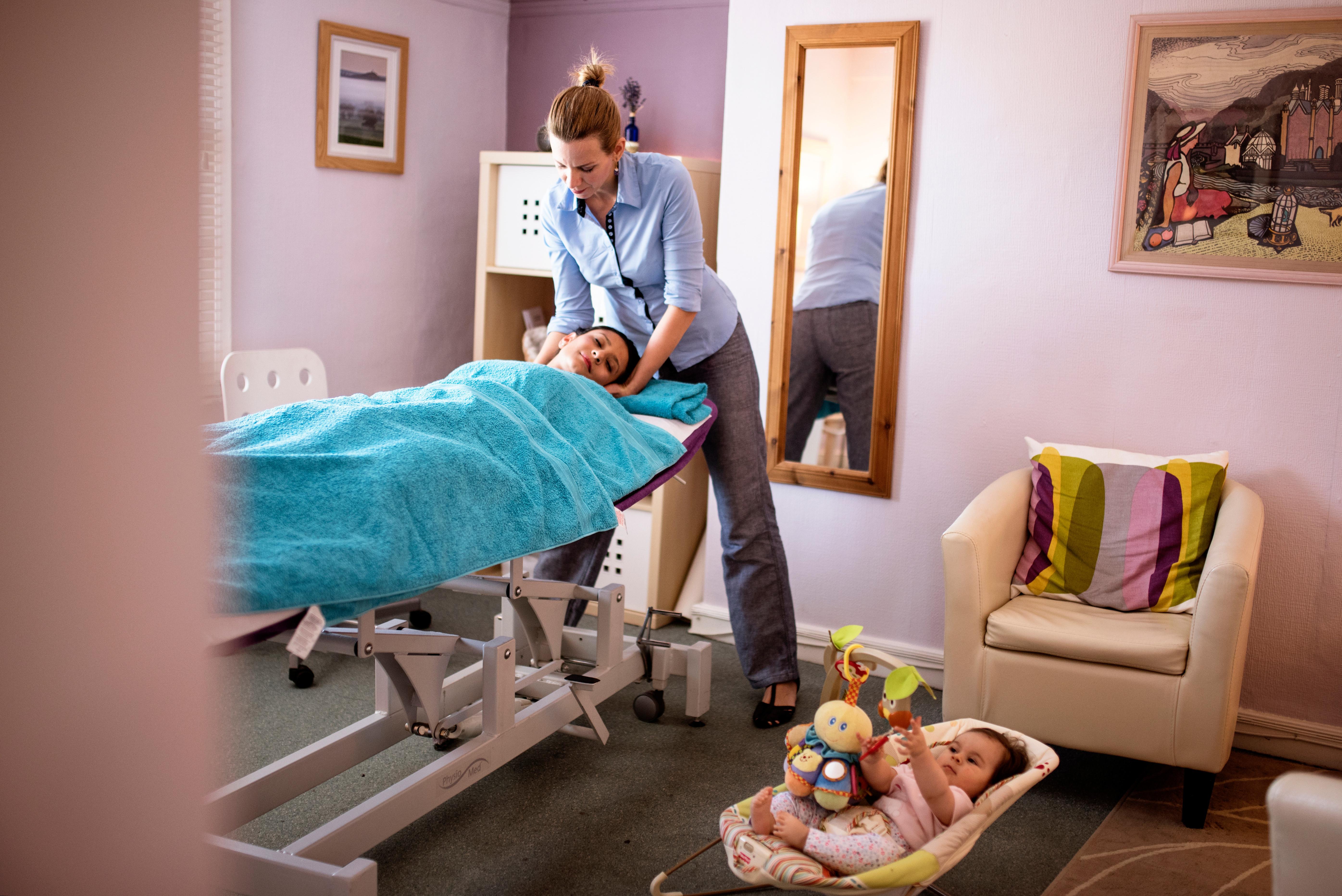 Prenatal and Postnatal Massage